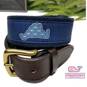 Vineyard Vines Marthas Vineyard Fish Belt Size 34